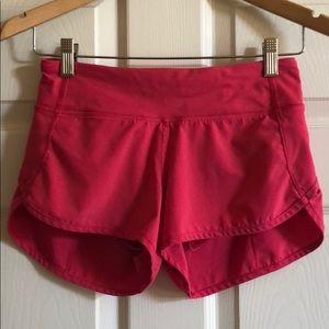 Lululemon speed shorts 2 excellent
